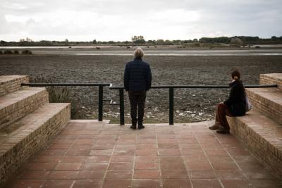 mirador en Doñana