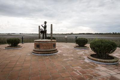 Plaza en Doñana